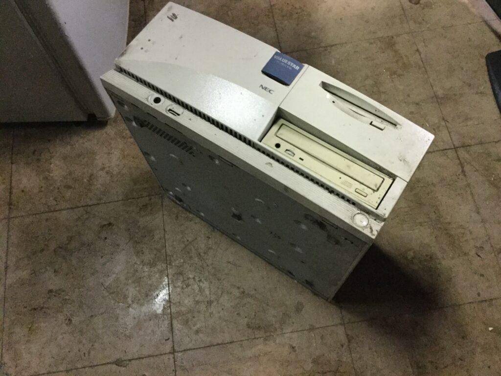 岡山市で回収したパソコン