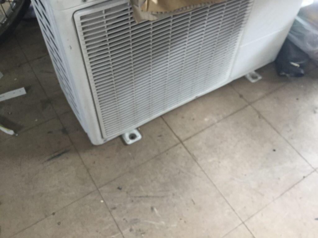 総社市でのエアコン無料回収