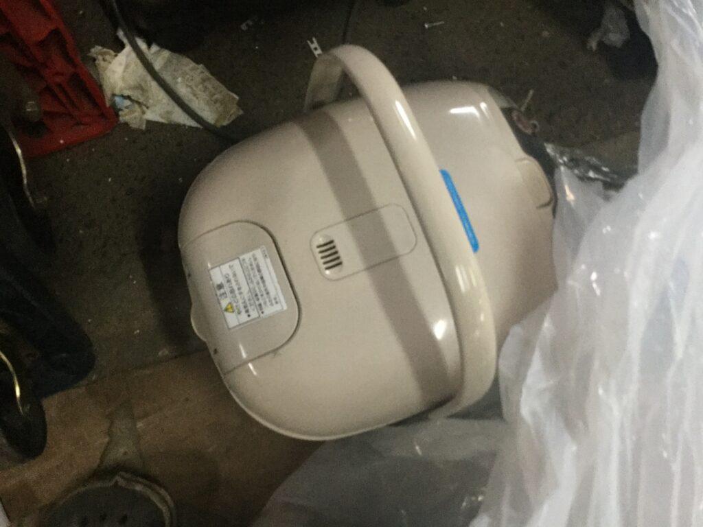 笠岡市で回収した炊飯器