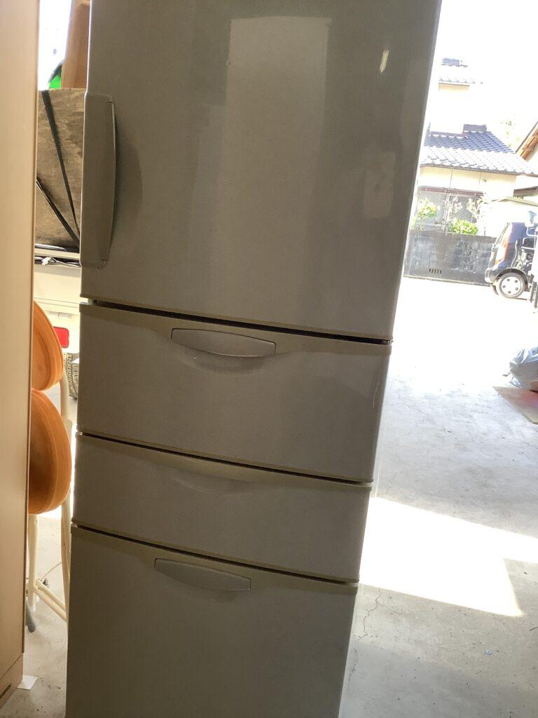 岡山市内で開封して冷蔵庫