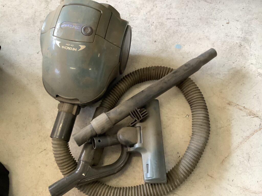 岡山市で回収した掃除機