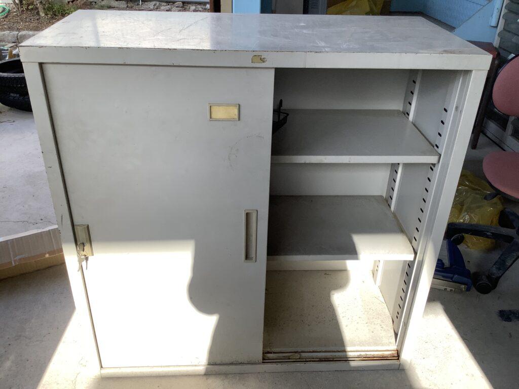 岡山市北区で回収したスチール棚