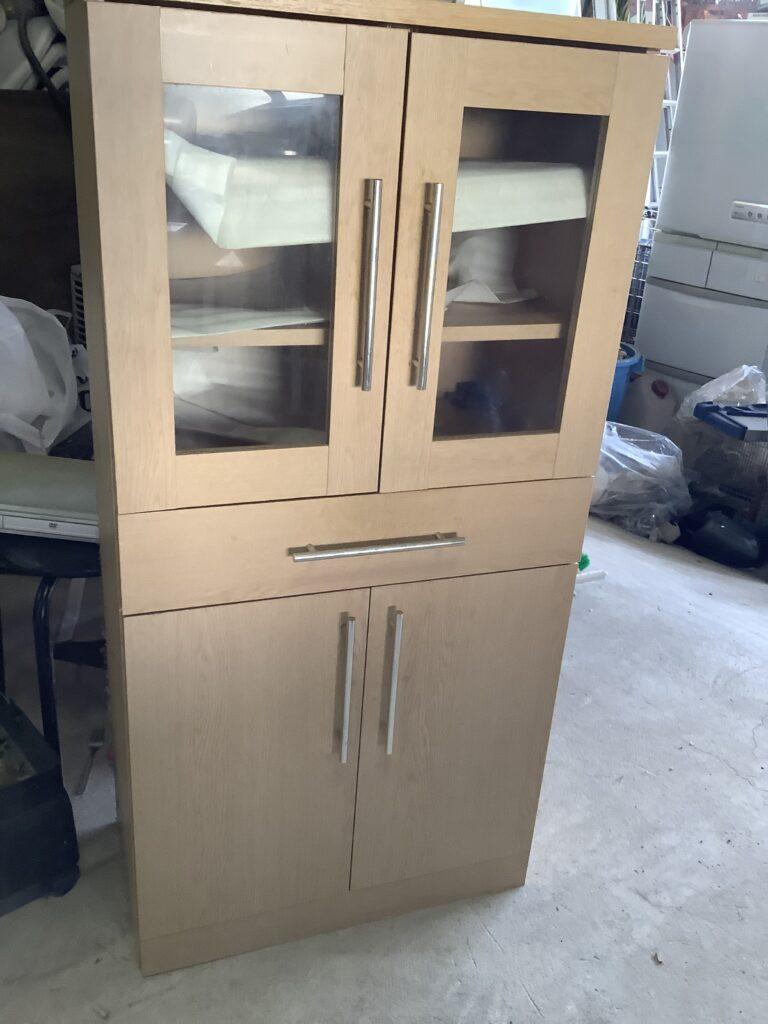 津山市で回収した食器棚