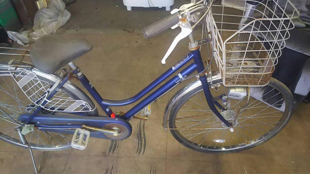 総社市で回収した自転車