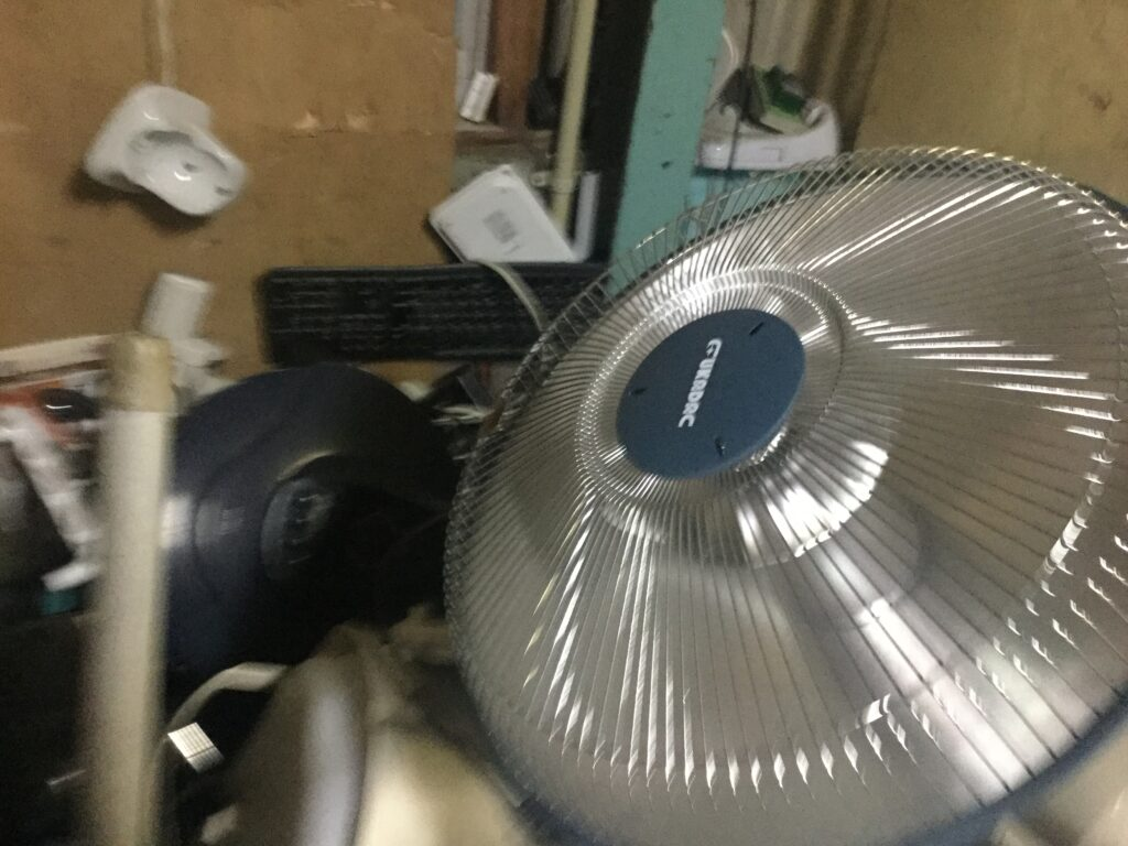 笠岡市で回収したハロゲンヒーター