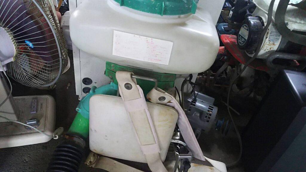 総社市で回収した噴霧器