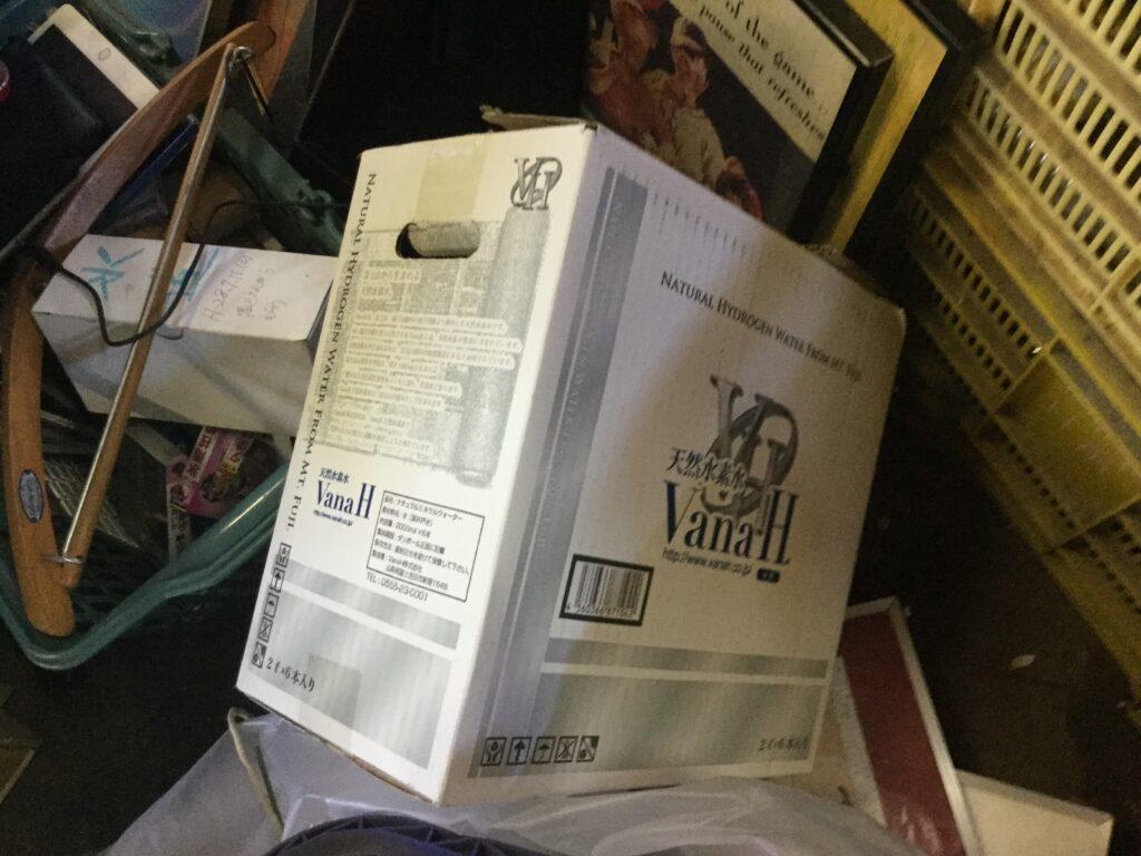 総社市で回収したダンボール箱