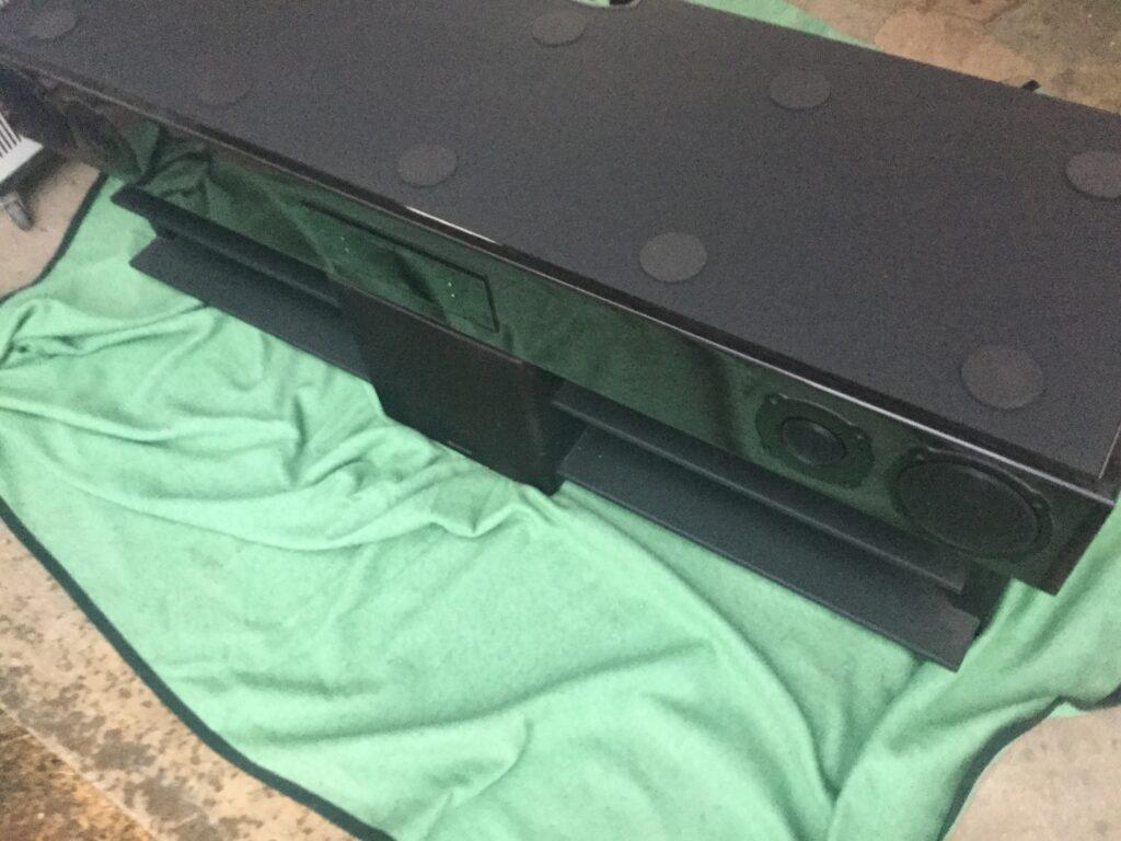 笠岡市で回収したテレビボード