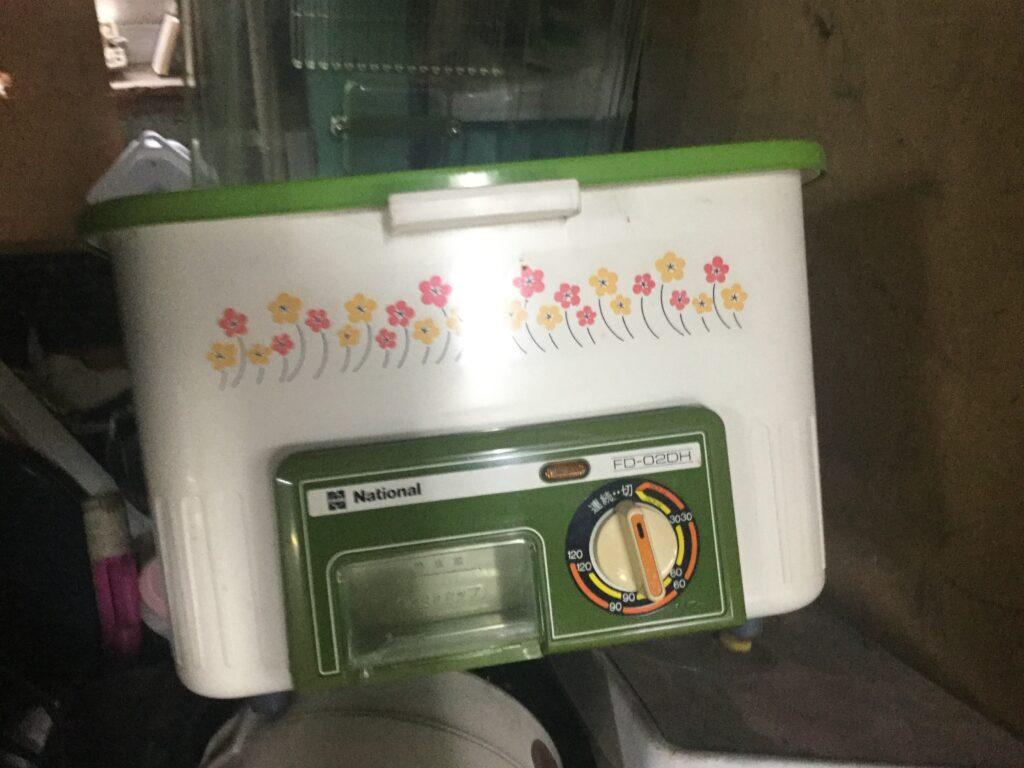笠岡市で回収した食器乾燥機