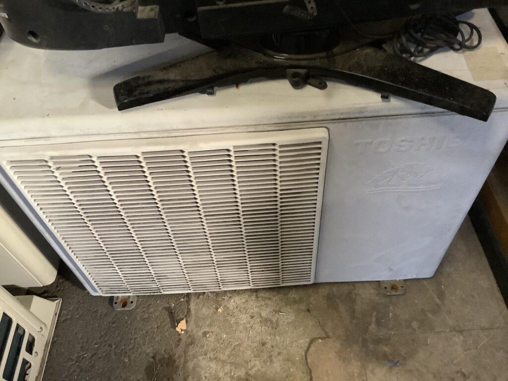 赤磐市で取り外し回収したエアコン
