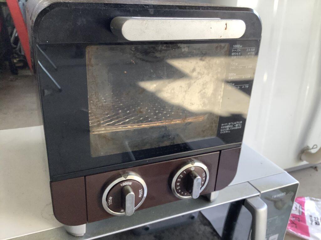 津山市で回収したトースター