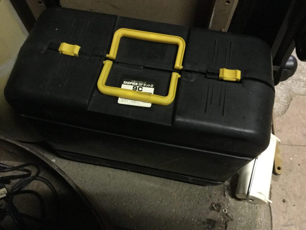 赤磐市で回収した道具箱