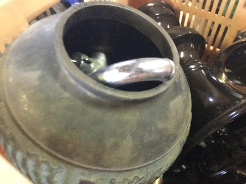 総社市で回収した壺