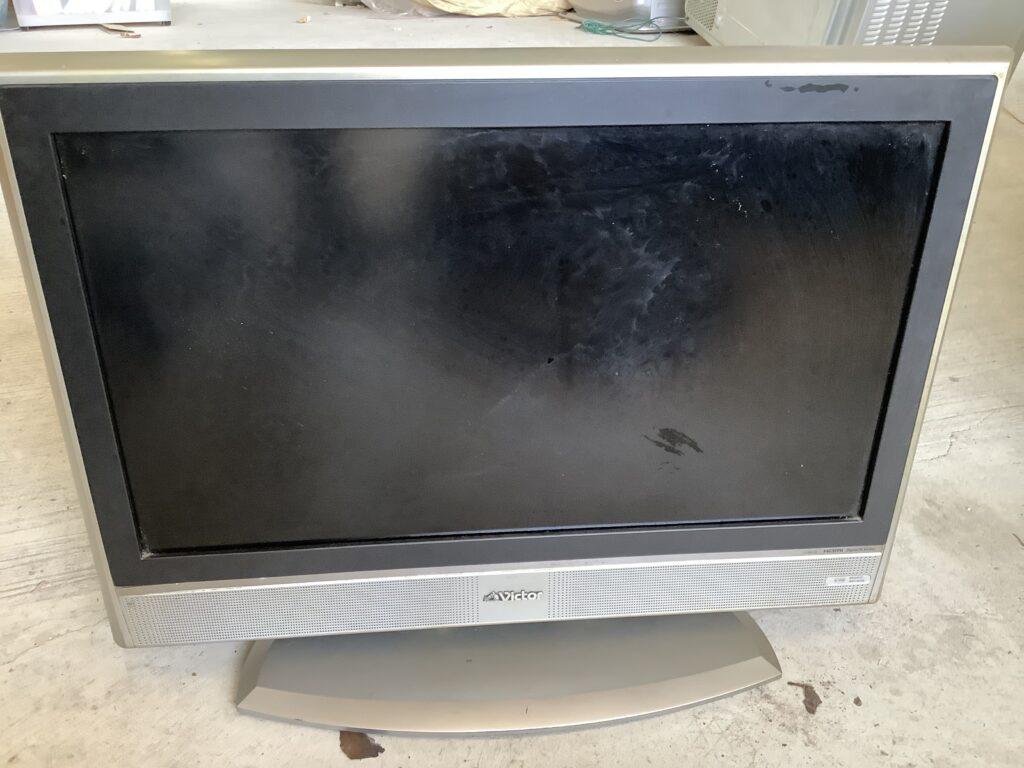 岡山市で回収した液晶テレビ