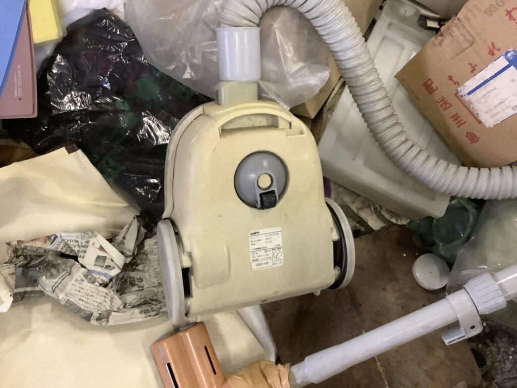 岡山市北区で回収した掃除機
