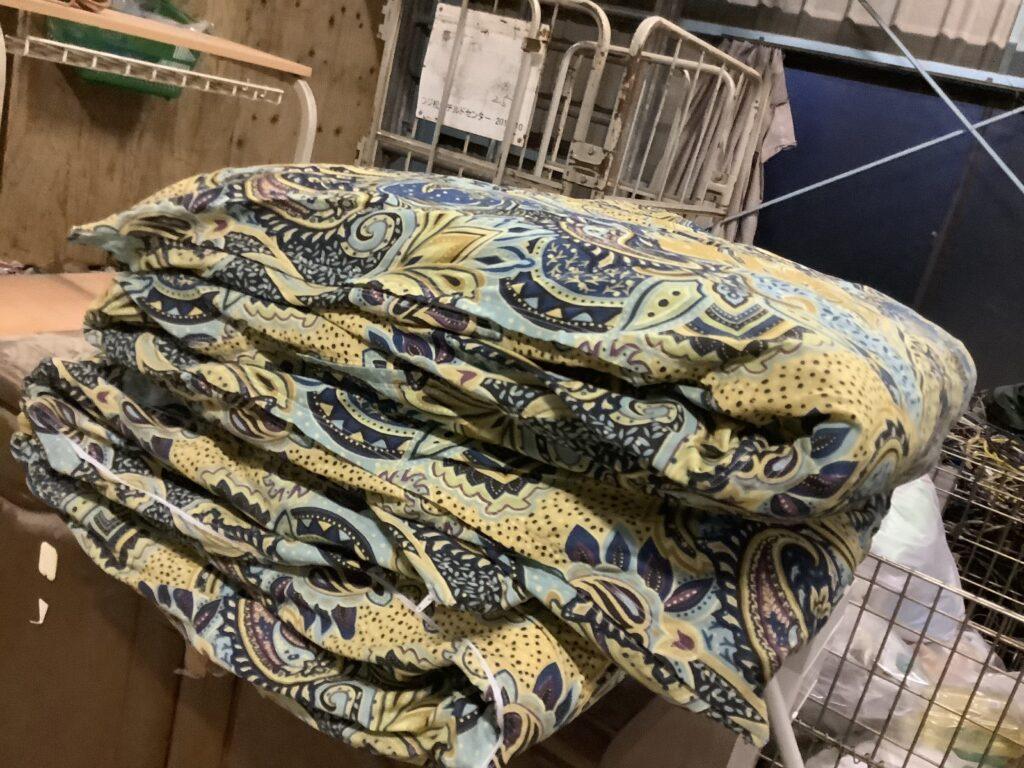 岡山市北区で回収した布団