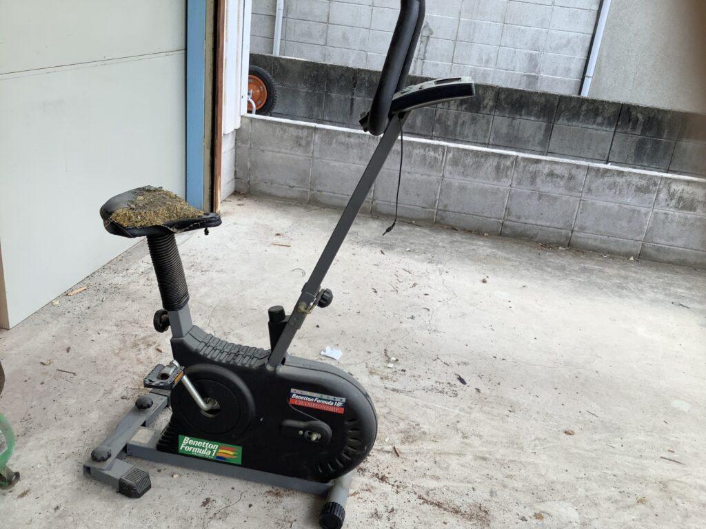 岡山市内で回収した健康器具