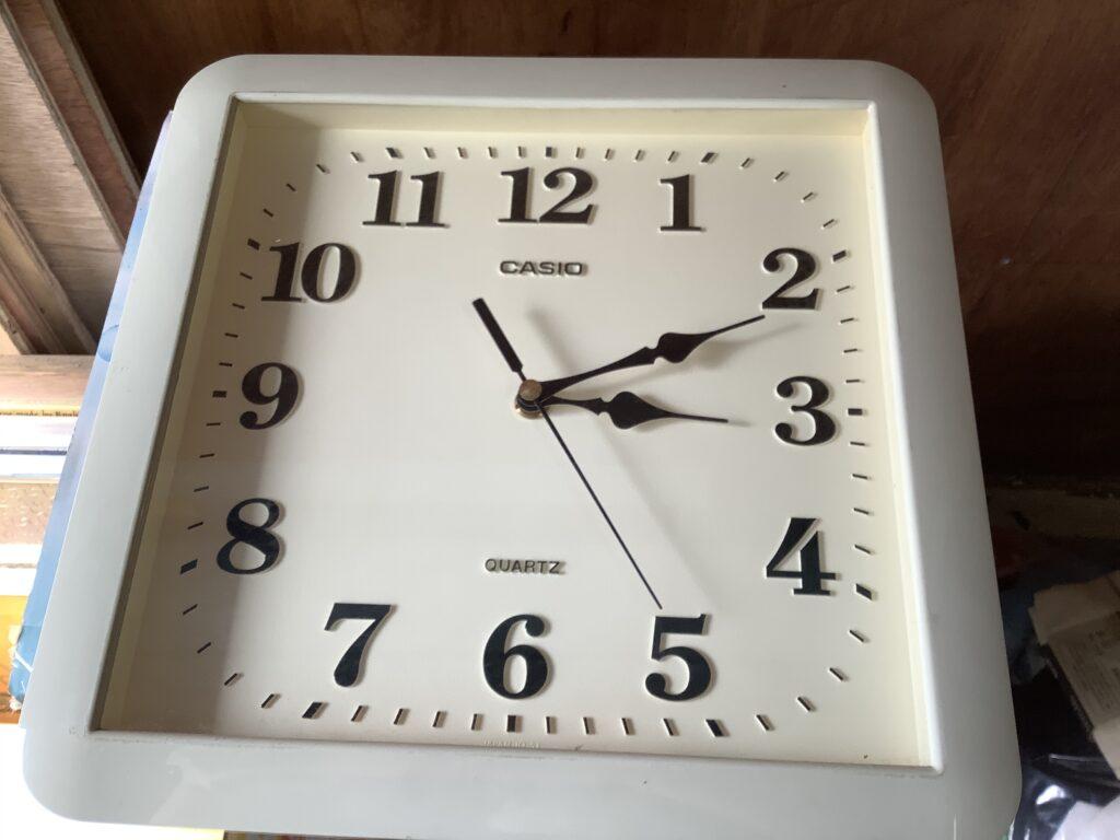 岡山市内で回収した時計
