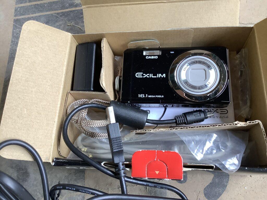 岡山市内で回収したカメラ