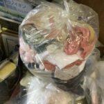 岡山市で回収した衣類