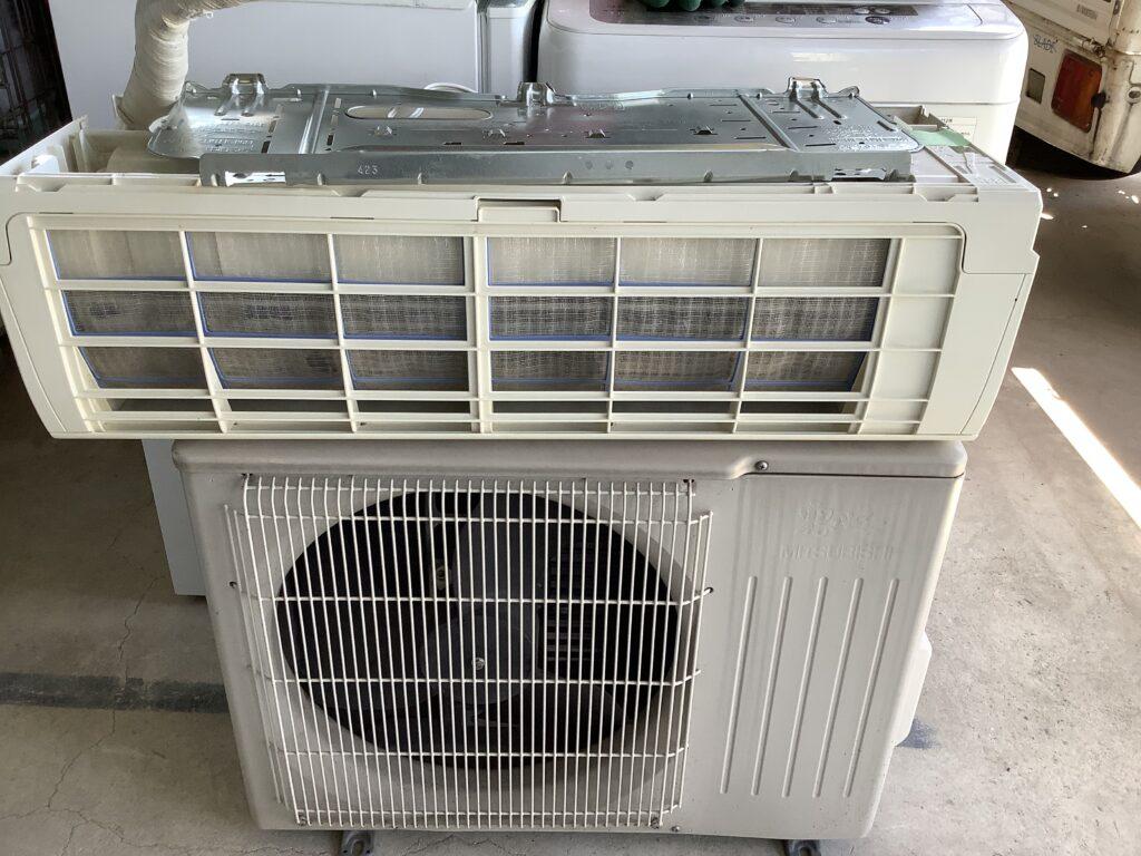 南区新保で回収したエアコン