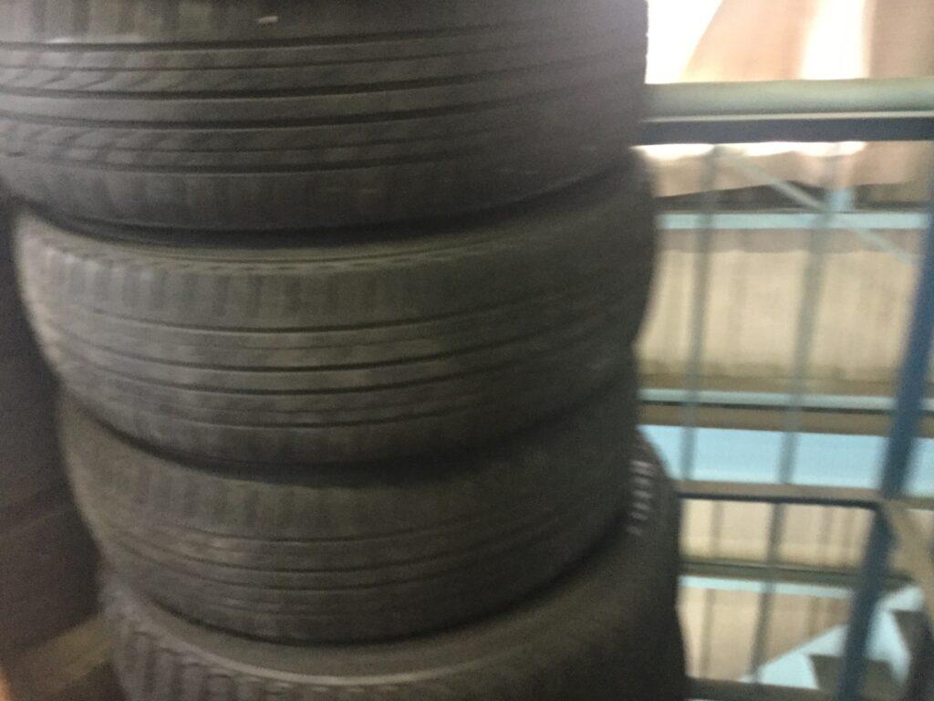 井原市でのタイヤの回収