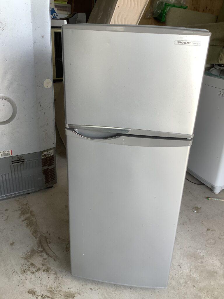 岡山市内で回収した冷蔵庫