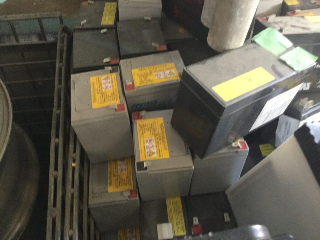 岡山市東区でのバッテリーの無料回収