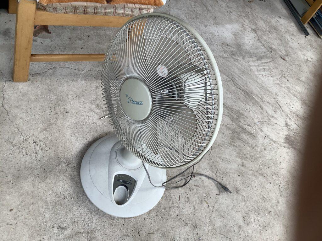 総社市総社で回収した扇風機