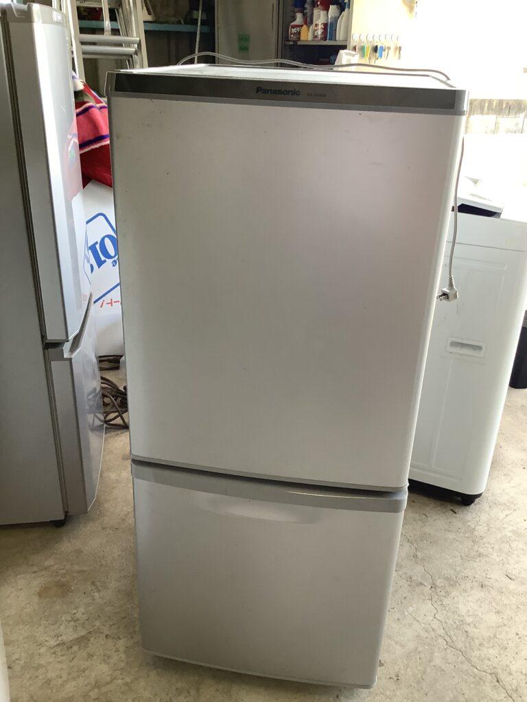 岡山市中島で回収した冷蔵庫