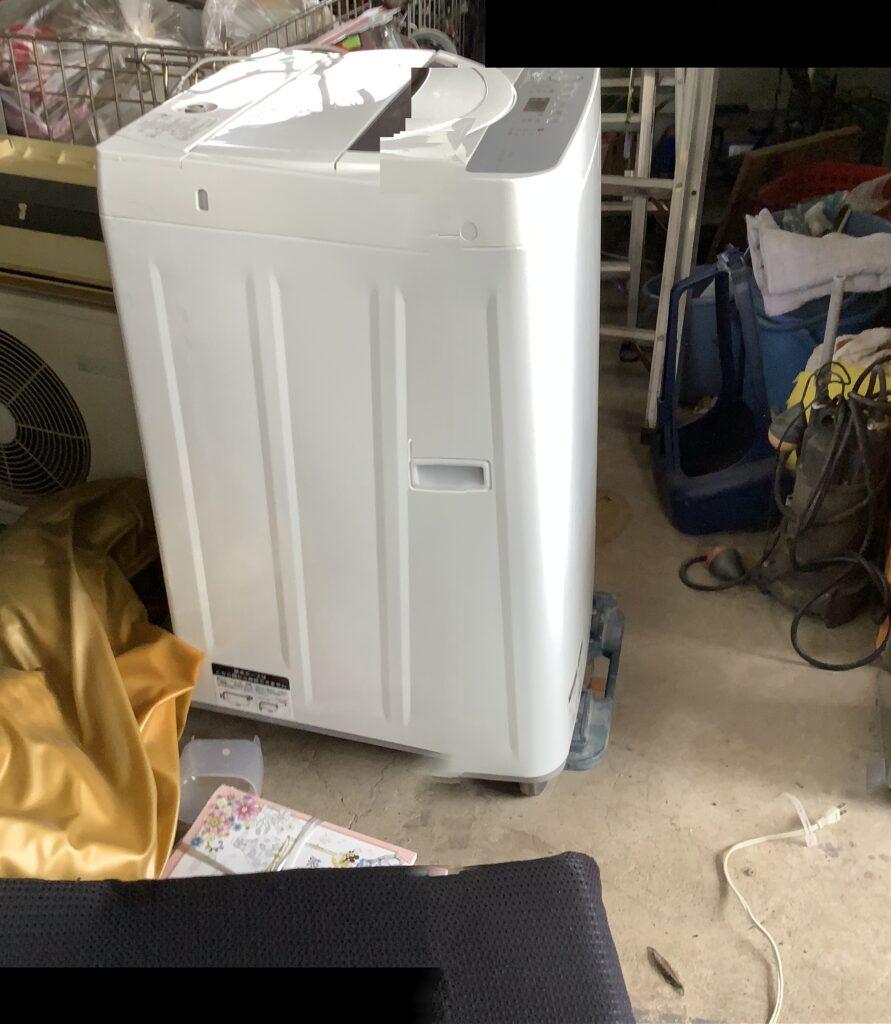 総社市総社で回収した洗濯機