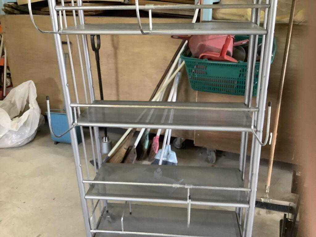 赤磐市で回収したスチール棚