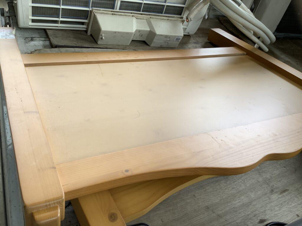 岡山市神田町で回収したベッド