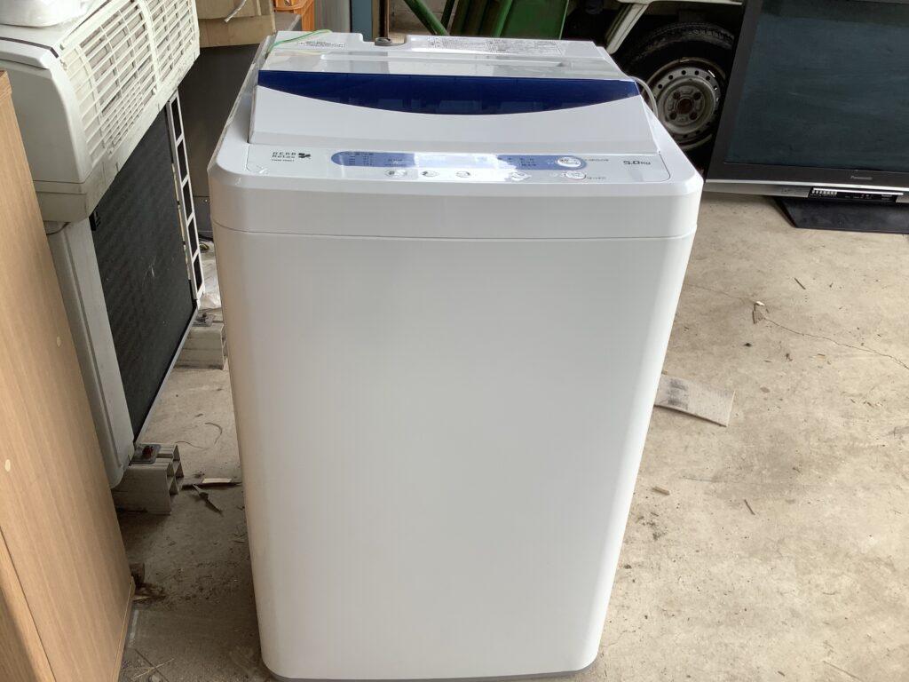 岡山市下伊福で回収した洗濯機