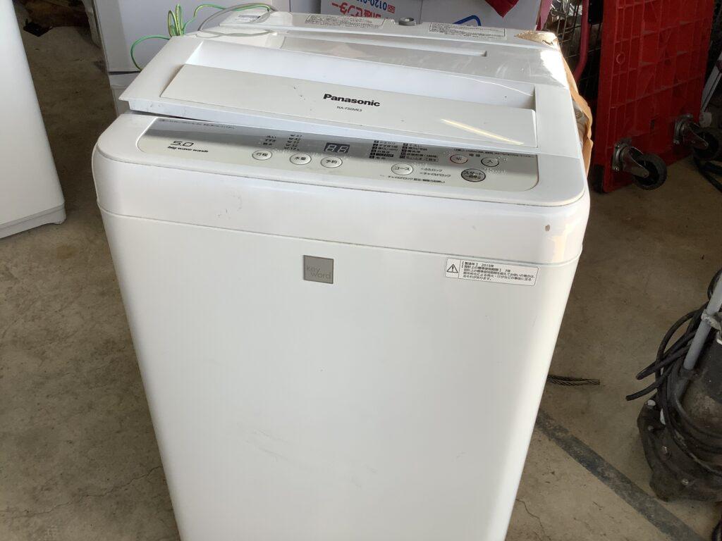 岡山市中島で回収した洗濯機
