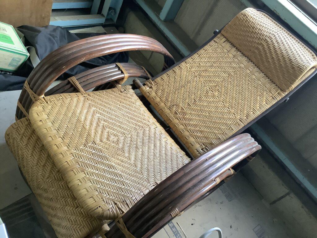 北区新屋敷で回収した椅子