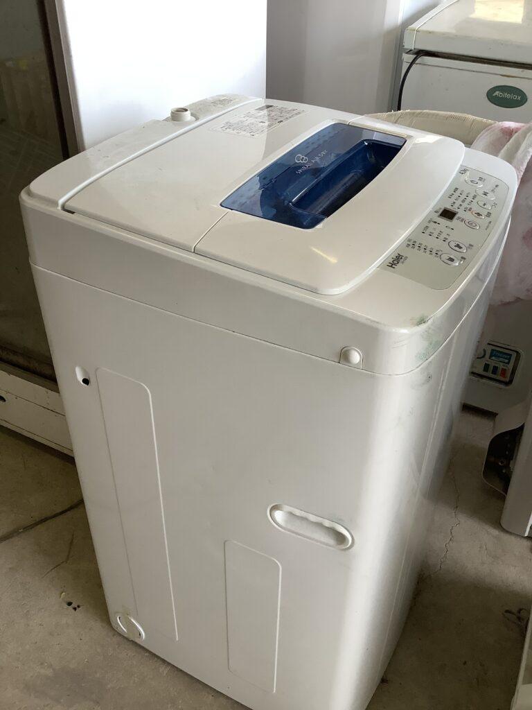 岡山市北区庭瀬で回収して洗濯機