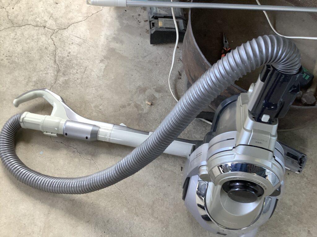 岡山市福田で回収した掃除機