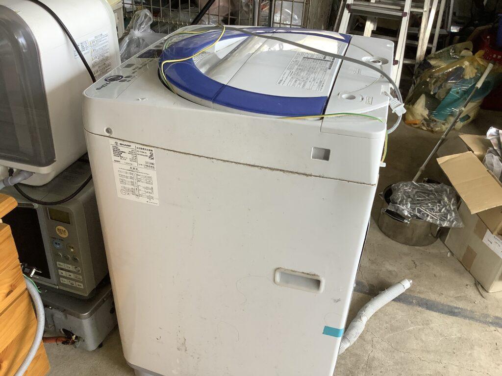 岡山市福田で回収した洗濯機