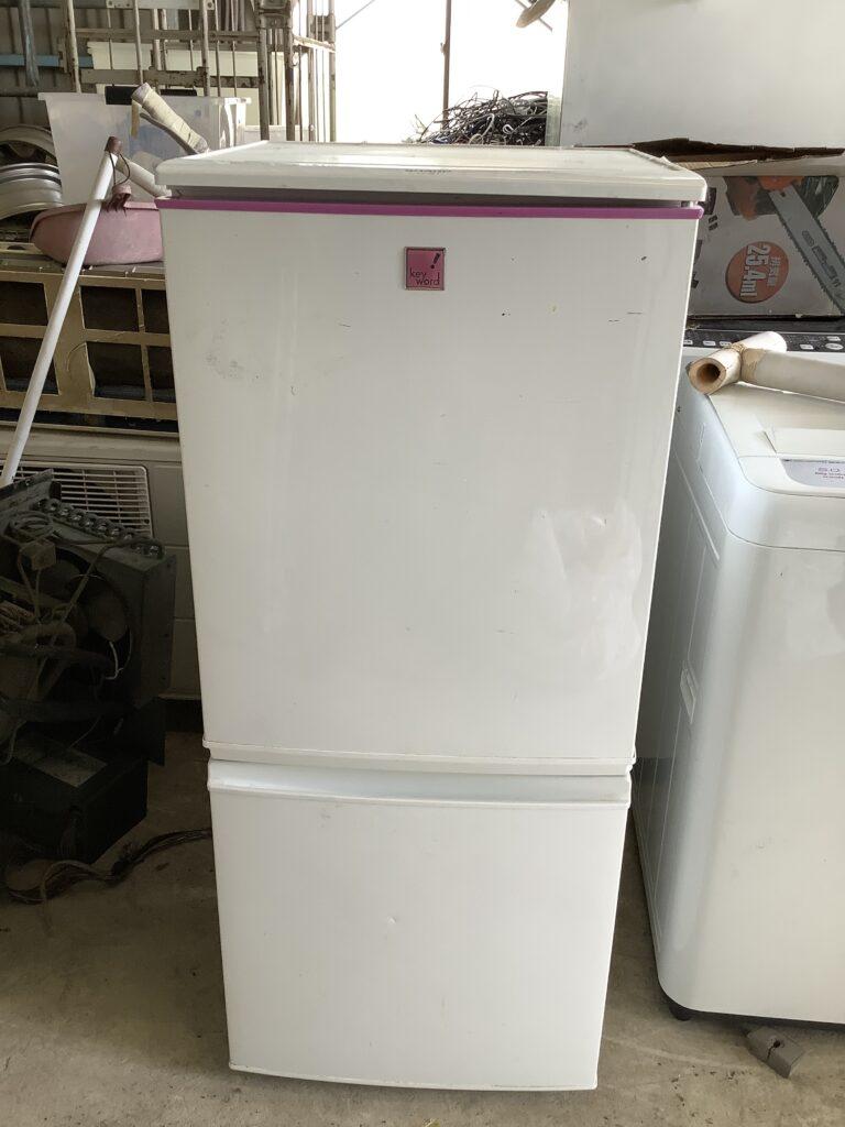 岡山市北区東古松で回収した冷蔵庫