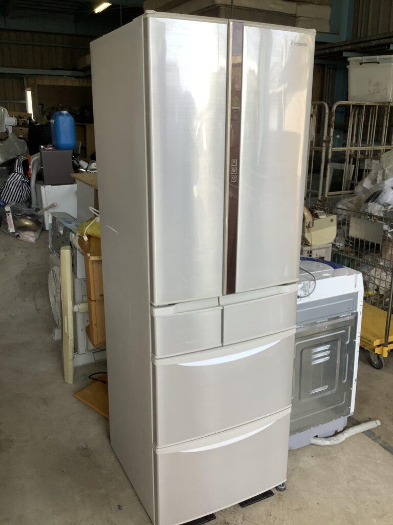 岡山市福田で回収した冷蔵庫