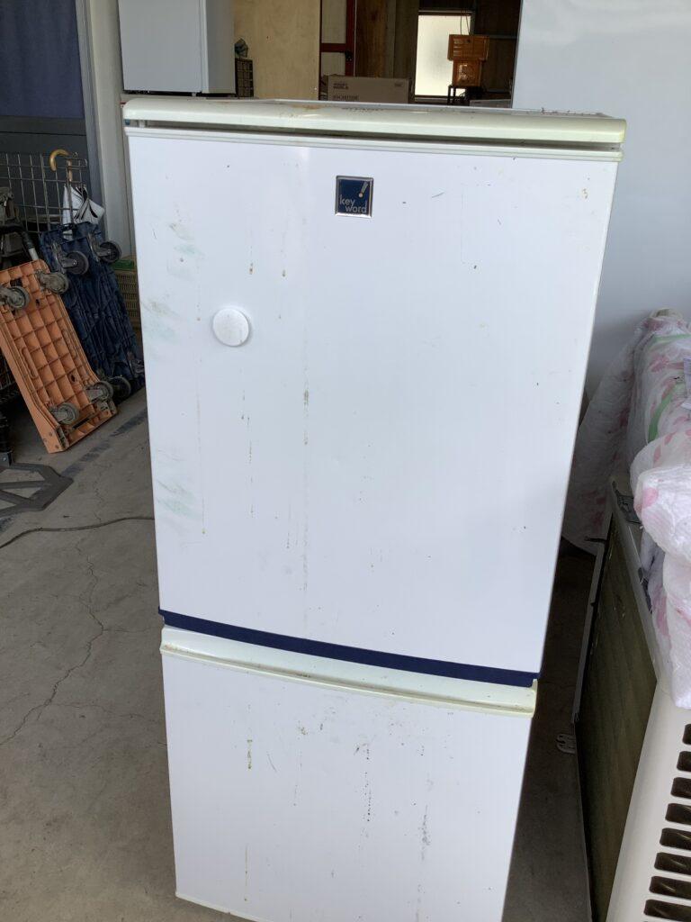 狭山市北区庭瀬で回収した冷蔵庫