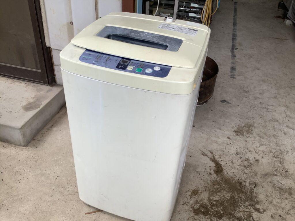 岡山市中区兼基で回収した洗濯機