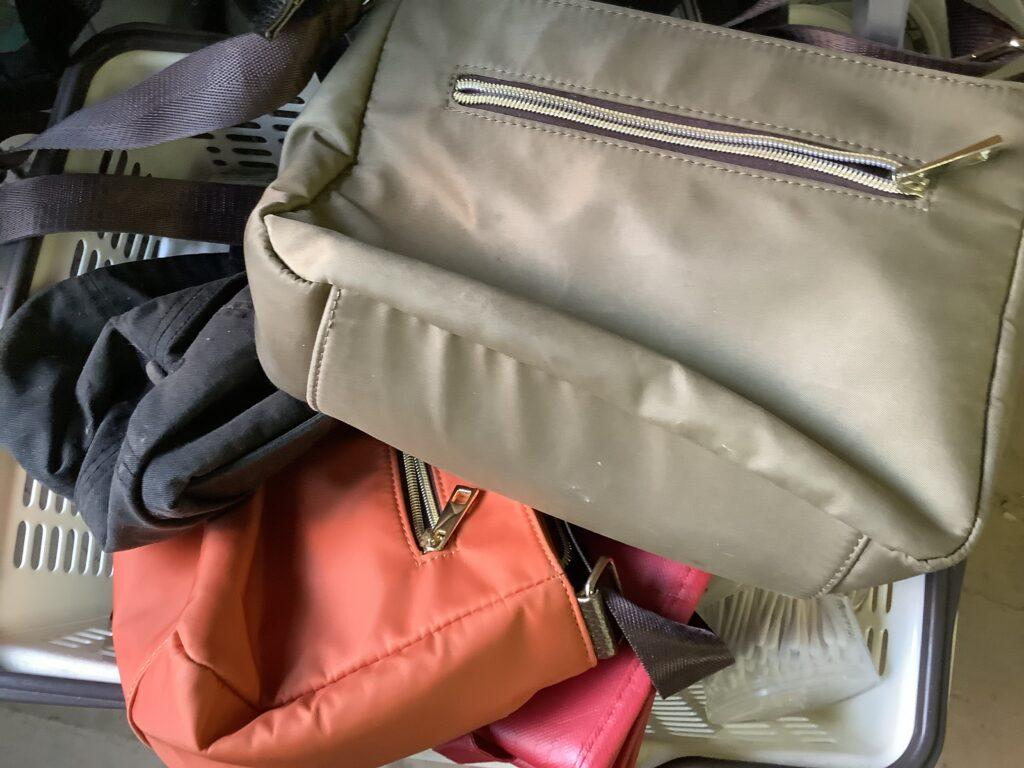 岡山市中区雄町で回収したバッグ