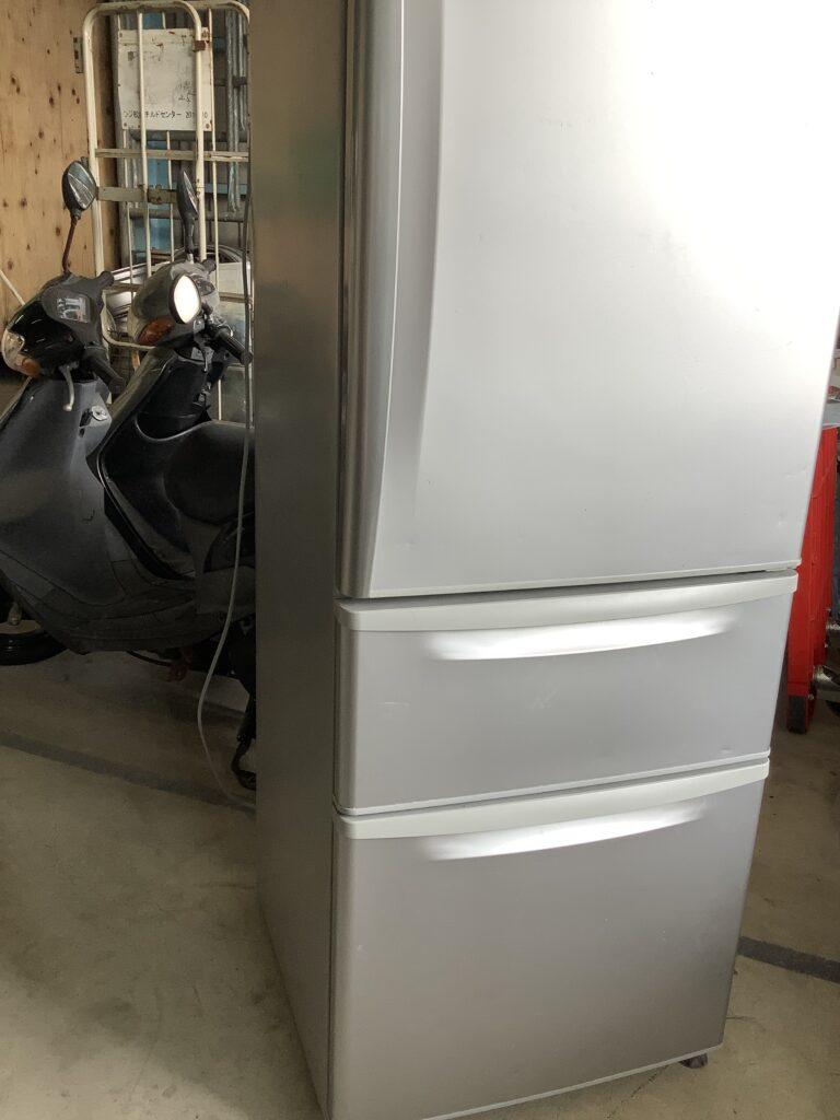 テレビと同時に不用品回収した冷蔵庫