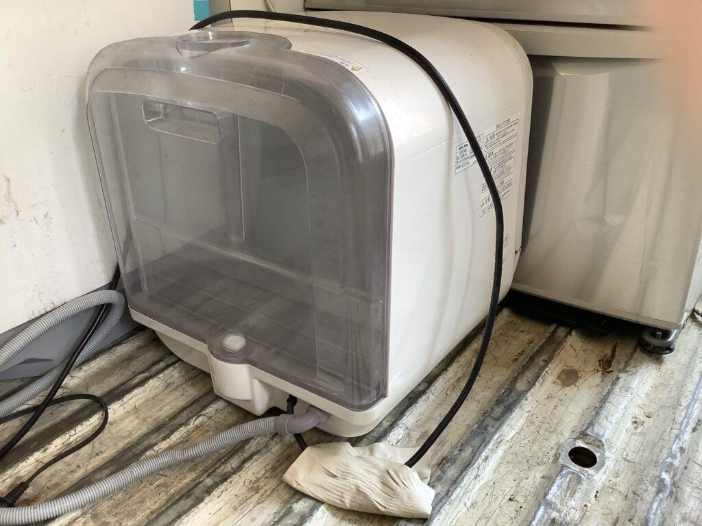 岡山市福田で回収した食器洗い乾燥機