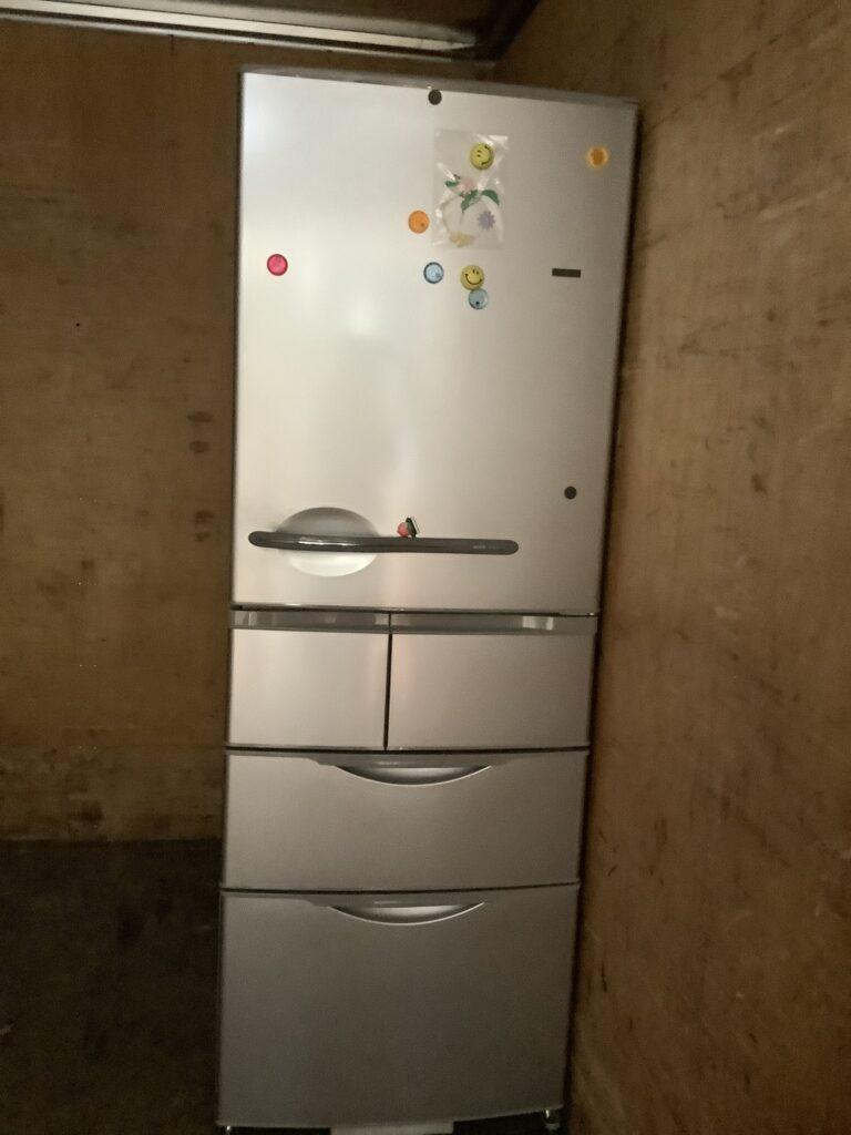 岡山市北区今で回収した冷蔵庫
