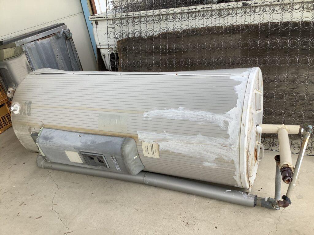 岡山市北区庭瀬で回収した給湯機