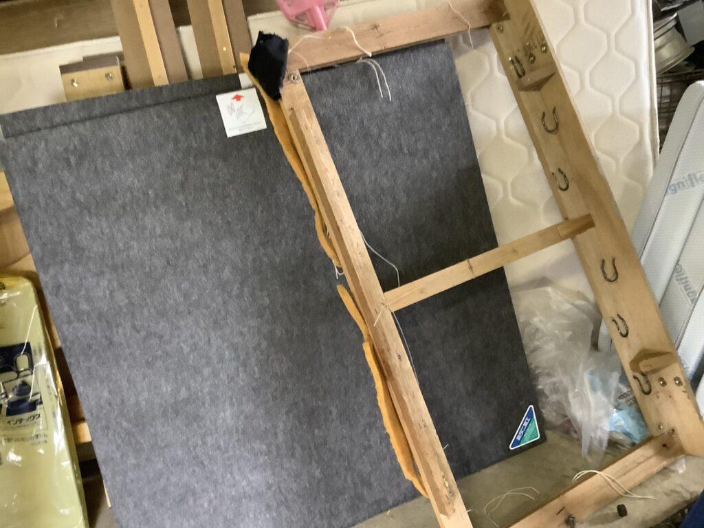 岡山市中区西川原で回収したベッドフレーム