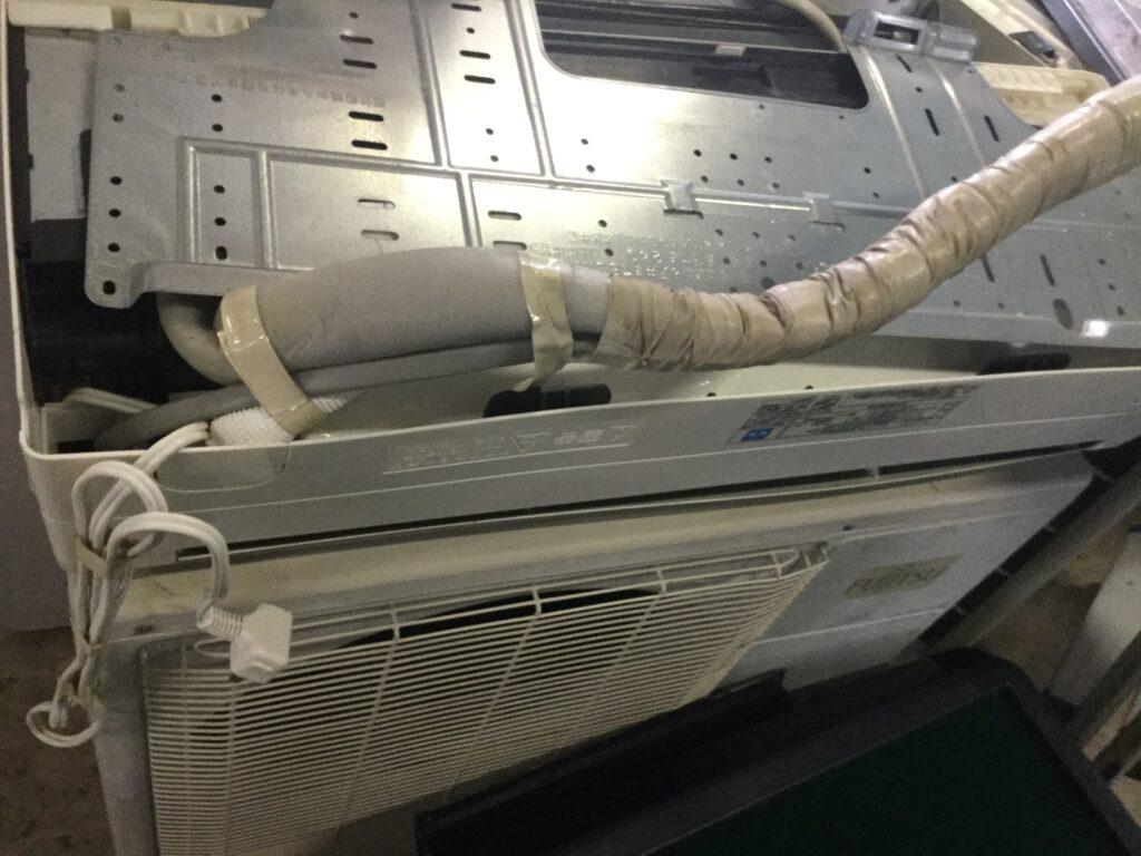 笠岡市でのエアコン無料回収